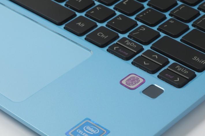 加入了指紋認證功能,提高安全性。