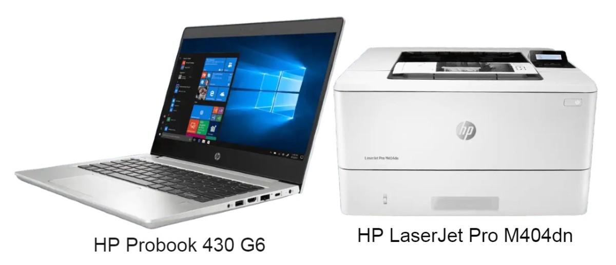 HP ProBook 430 G6(配備 Intel Core i5 或 i7 處理器)搭配 HP LaserJet Pro M404dn 組合,優惠價分別 9,588 港元(原價 11,487 港元)及 10,588 港元。(原價 12,587 港元)。