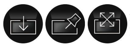 ScreenPad Plus 預設一鍵轉屏、屏幕釘選及延伸特大屏幕等。