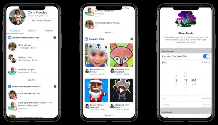 .Facebook 本周內推出針對兒童使用的 Messenger Kids。