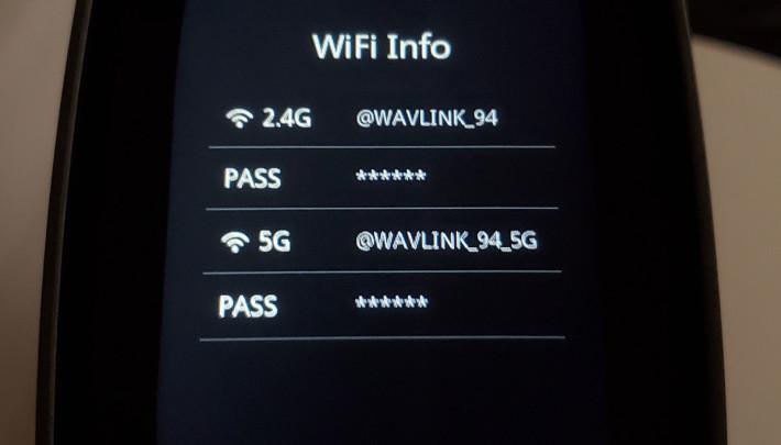 可設定直接顯示無線網絡的 SSID 及密碼。