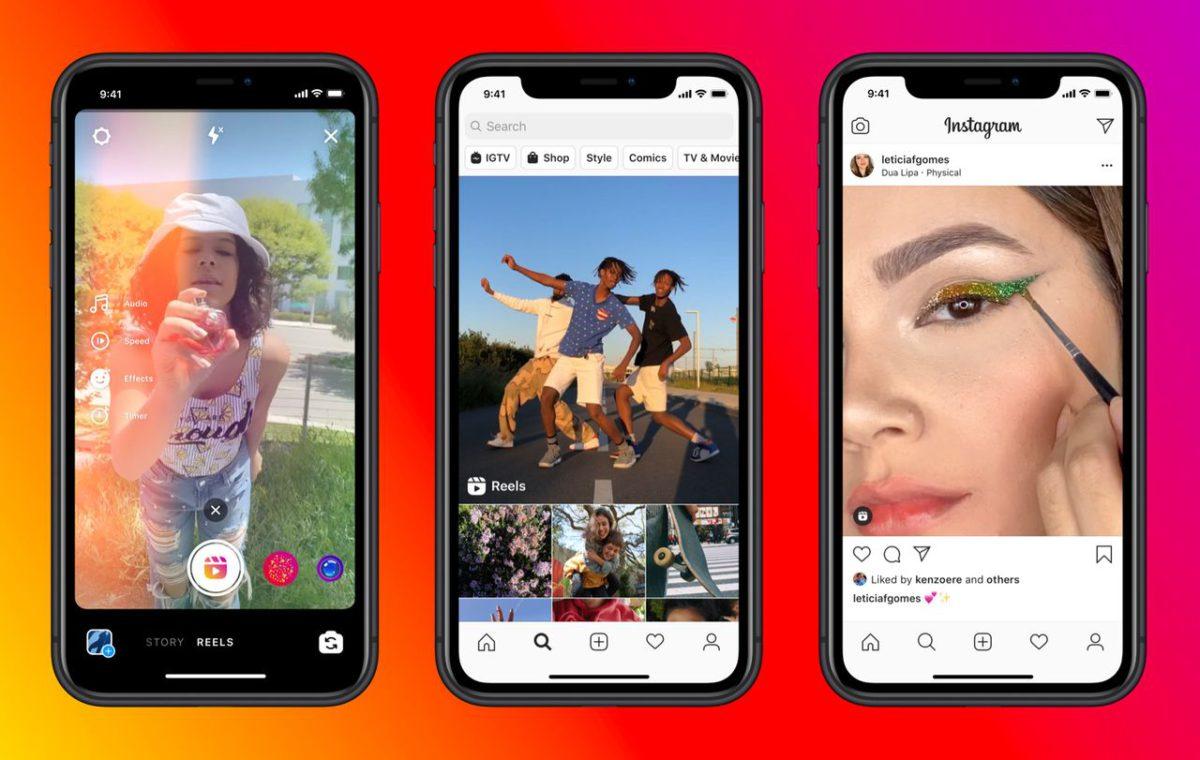 受到 TikTok 威脅, Facebook 旗下的 Instagram 也推出相似服務 Reels 迎戰,還用銀彈政策收買人氣 TikTok 網紅跳槽。