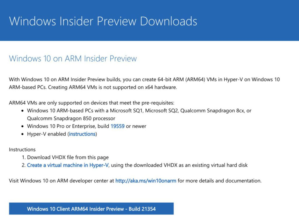 如要在 Apple M1 Mac 電腦的 Parallels Desktop 16.5 執行 VM,需要有以 ARM 為基礎的作業系統,現時 Windows 平台就有 Windows 10 on ARM Insider Preview 。