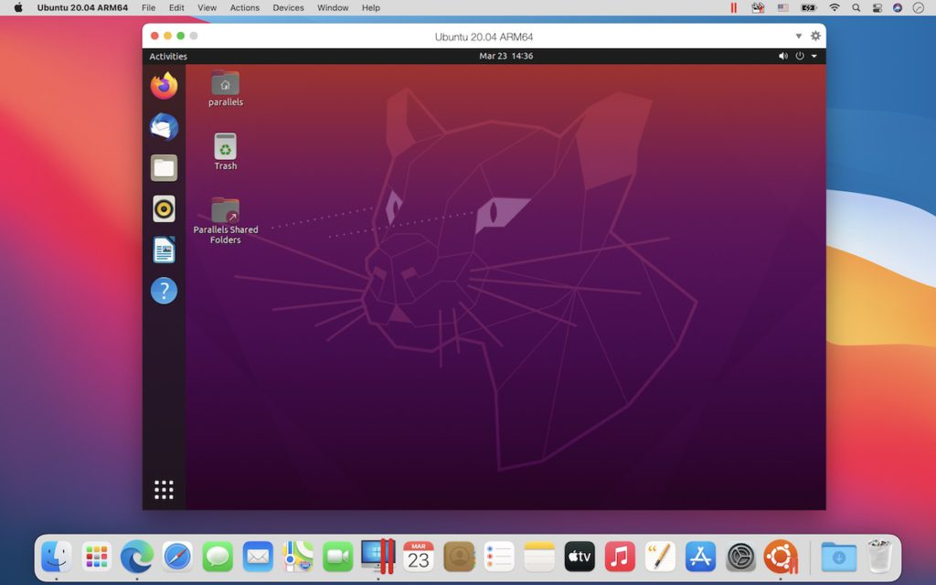 Parallels Desktop 16.5 for Mac 同時也支援多個 ARM Linux 發行版本。