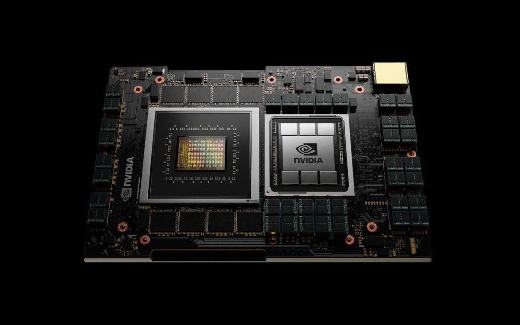 NVIDIA 買下 ARM 之後以 ARM 技術開發的首款數據中心伺服器用 CPU 「  Grace 」。