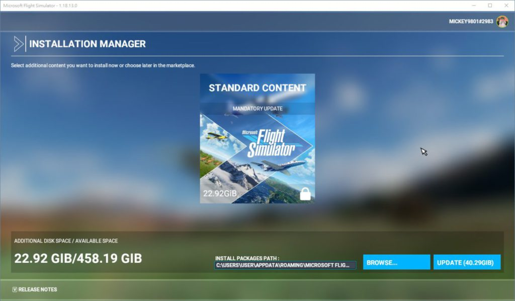 PC 版亦同日推出 Sim Update 5 ,基本更新近 23GB ,但連 5 次 World Update 都需要另行更新。