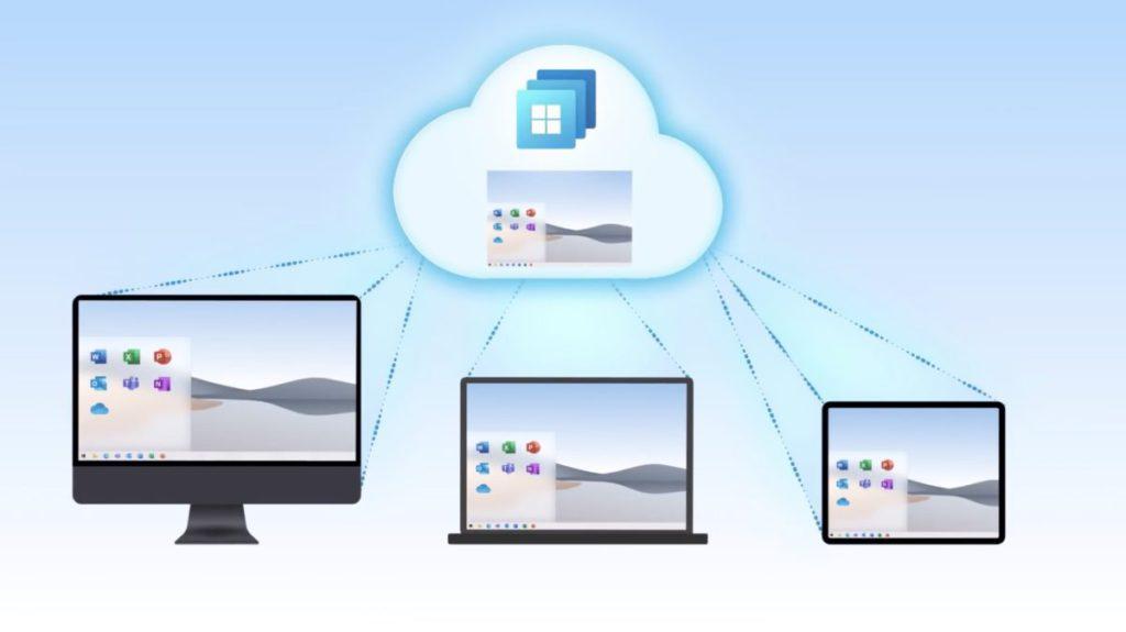 Windows 365 在雲端建立虛擬電腦,用戶可以在任何地方透過瀏覽器使用 Windows 10/11 。