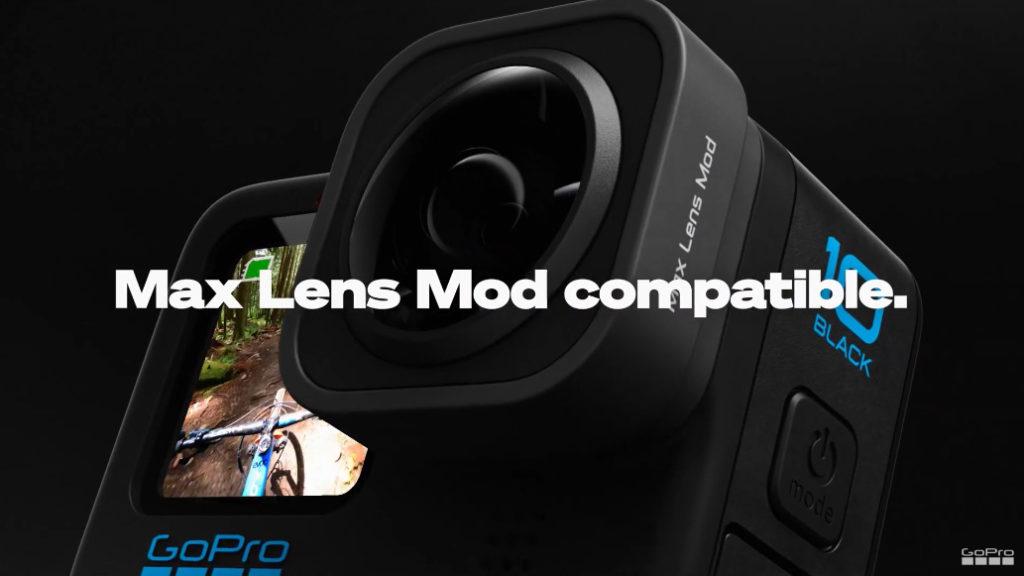 可沿用上代配件,包括 Max Lens 模組。
