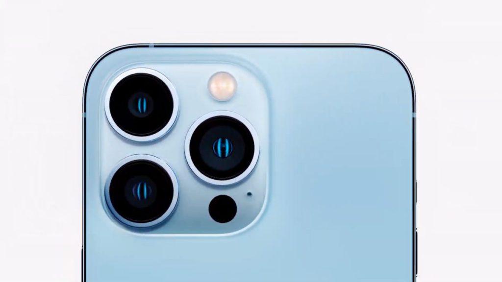 iPhone 13 Pro 系列換上新設計的 3 㯒機系統。